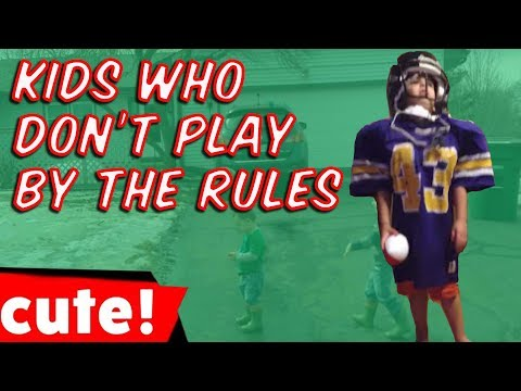 Kids Who Don't Play By The Rules | Funniest Sports Fail Compilation