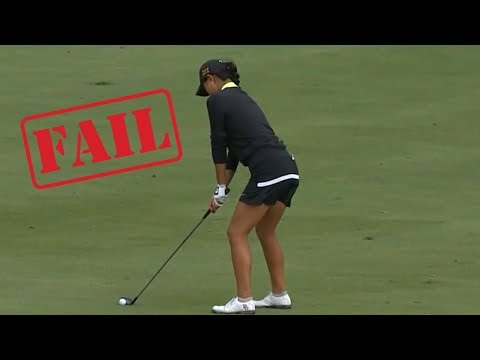 """EVERY SINGLE F**KING PAR 5!"" Golf Shot Fail Compilation 2017 NCAA Women's National Championship"