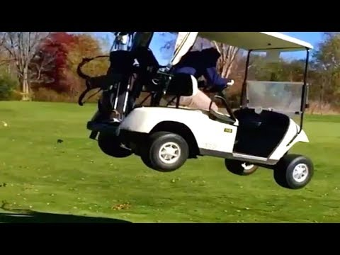10 Funniest Golf Cart Videos