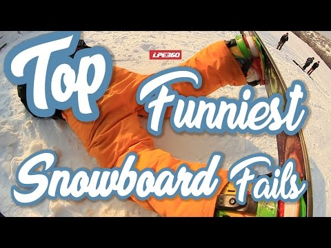 Top Funniest Snowboard Fails