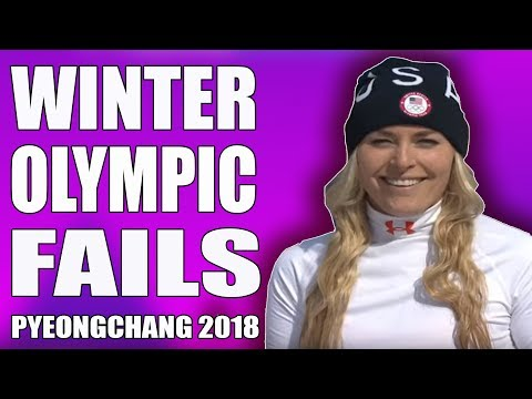 Winter Olympic Fails PyeongChang 2018 |  Best Ski Snowboard Fail Compilation | Fail Department