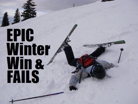 Ultimate Winter Fail / Win Compilation - part 2