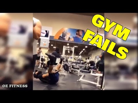 GYM FAILS 2018 - TRY NOT TO LAUGH 🤣