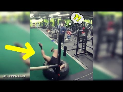 20 NEW GYM FAILS 2018 - NO BRAIN NO GAIN