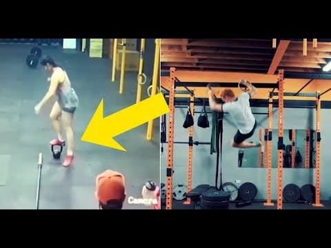 ULTIMATE CROSSFIT FAIL COMPILATION - GYM FAILS