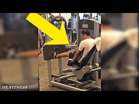NEW GYM FAILS 2018 - Why You Can't Build Muscle
