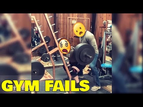 20 NEW GYM FAILS 2018 - LET'S GET MUSCLE