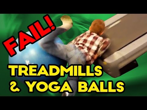 Best TREADMILL and YOGA BALL Fails of 2016 | Funny Fail Compilation