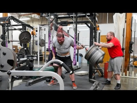 Gym Idiots - Chris Duffin 835-lb. Squat Fail and More