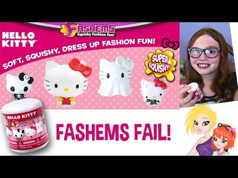 Hello Kitty Fashems Fail Opening