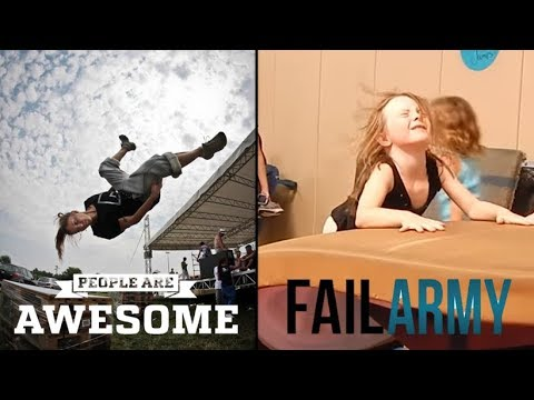 People Are Awesome vs FailArmy | Gymnastics edition