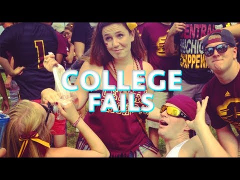 FRAT PARTY?! SORORITY PARTIES?! COLLEGE FAILS!! | Candid Blooper Video On Campus!! | Win Fail Fun