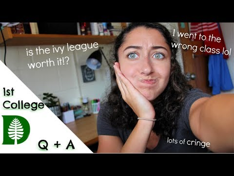 Classes, Friends, and Fails // College Q & A