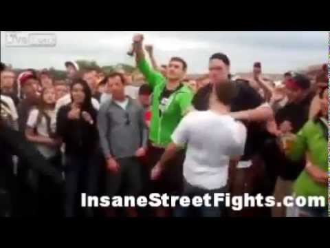 Epic Drunk College Fight!!! INSANE KNOCKOUT!!!!
