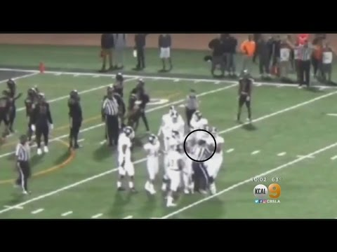 College Football Player Hits Ref: School, Athlete Say It Was An Accident, Others Not Sure