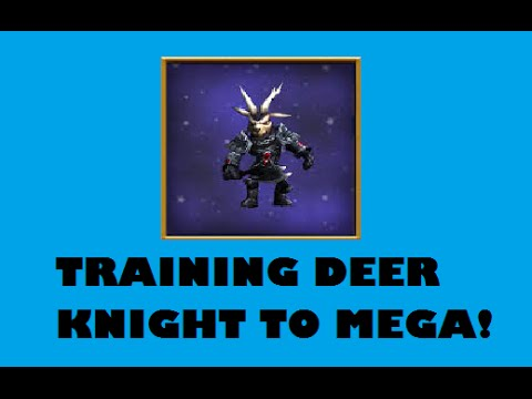 Epic Deer Knight pet Fail - Training To MEGA! - Wizard101