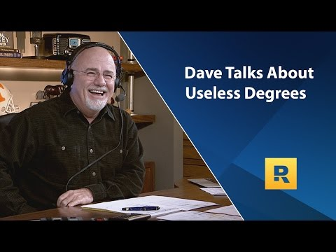 Dave Talks About Useless Degrees