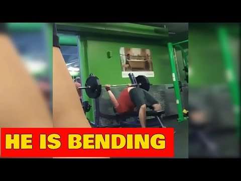 GYM FAILS 2018 - DISTURBING THE GYM