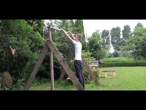 Muscle up fail painful and funny