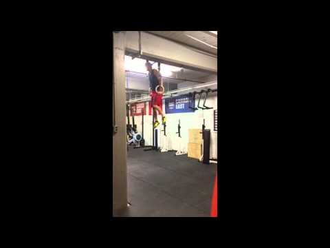 Ring Muscle Up Fail - Crossfit -
