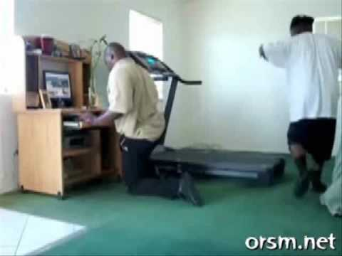 Treadmill fail!