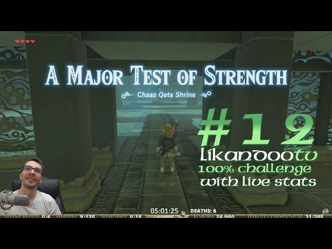 [ #12 ] HARD FAIL.... at A Major Test of Strength [ Zelda Breath of the Wild 100% CHALLENGE ]