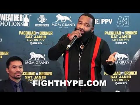 ADRIEN BRONER FAIL; PACQUIAO ASIAN JOKE GOES OVER EVERYONE'S HEAD