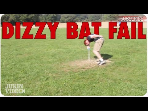 Dizzy Bat Soccer Kick Double Fail