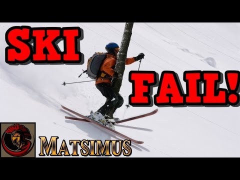 This Guy Cannot Ski - Ski Fail
