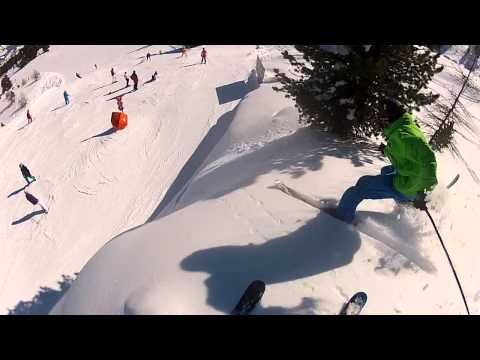 GoPro Powder Ski Fail