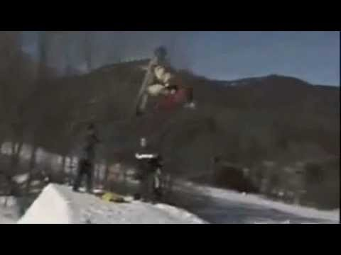Worst Snowboard fail ever -KNOCKOUT-