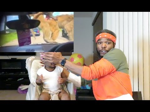 Try not to laugh Ridiculousness Edition Reaction!! W/ My 1 year old! (funniest reaction ever!!)