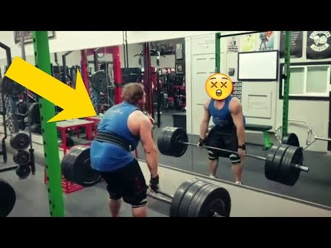 THE TWO BIGGEST EGO LIFTING BROTHERS IN HISTORY - GYM FAILS