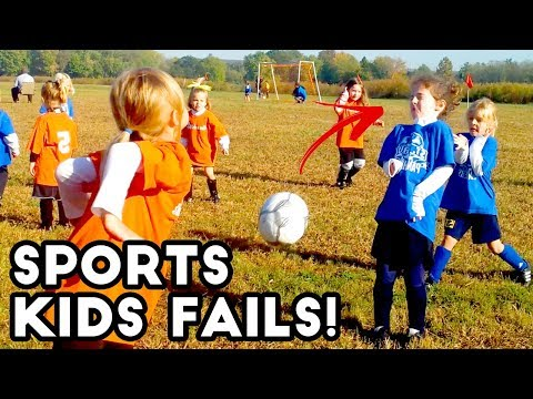 Soccer Ball to the FACE!? | Kids Sports Fails | Fail Videos AUGUST 2018