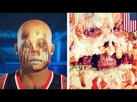 NBA 2K15 basketball face scan fail is hilarious and scary on Xbox and PS4
