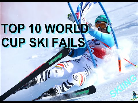 Top 10 World Cup Ski Fails