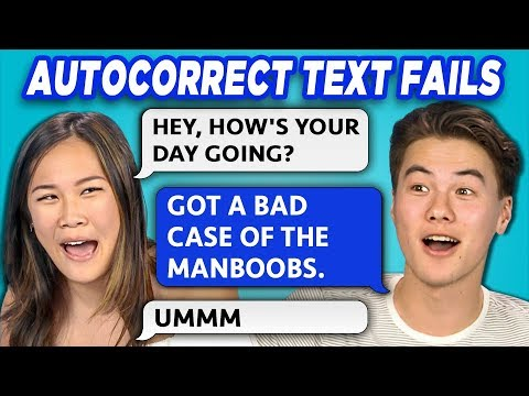 TEENS READ 10 AUTOCORRECT TEXT FAILS (REACT)