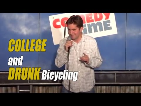 College and Drunk Bicycling (Stand Up Comedy) 2012
