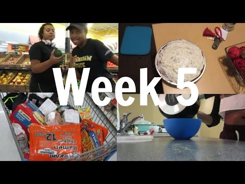 College Vlog: Car accident, Shopping, Grades| Week 5